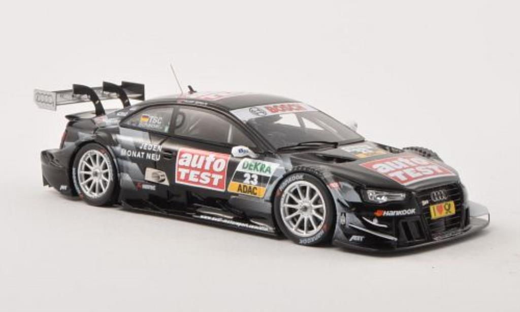 Audi RS5 DTM 1/43 Spark No.23 auto TEST Team Abt -Saison 2013 miniature