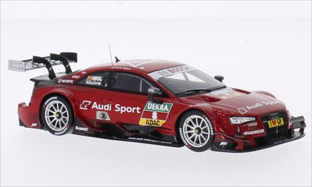 Audi RS5 DTM 1/43 Spark No.8 Audi Sport Team Abt Sportsline Audi Sport 2014 miniature
