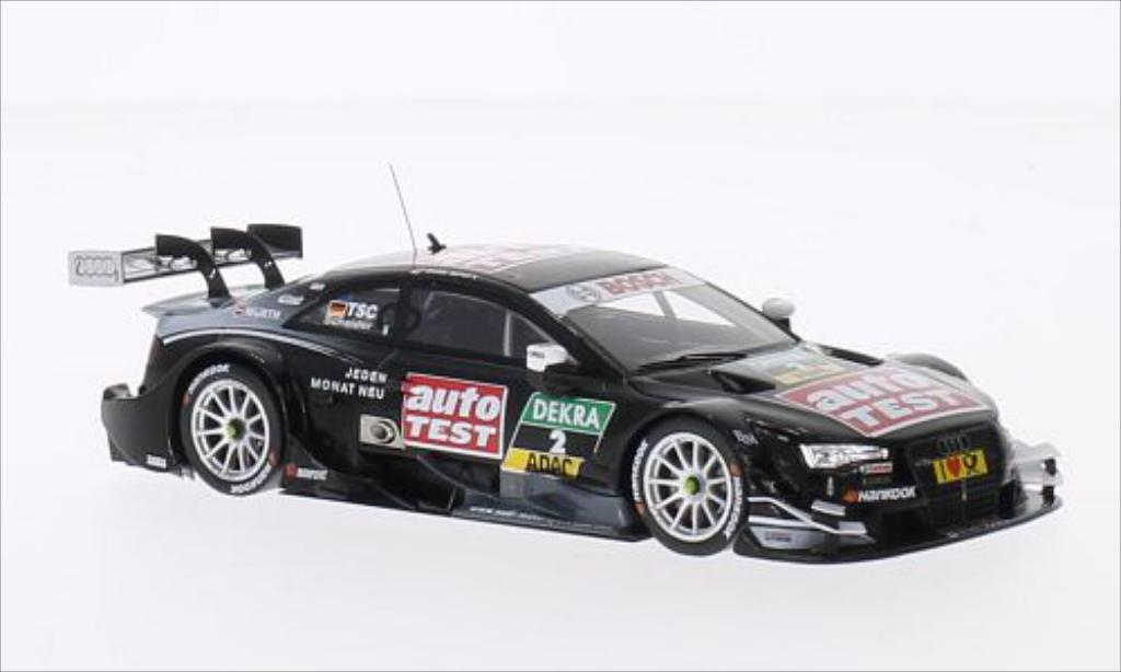 Audi RS5 DTM 1/43 Spark No.2 2014 miniature