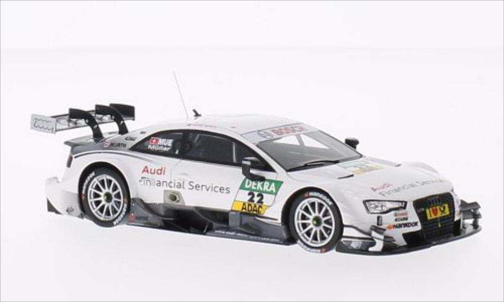 Audi RS5 DTM 1/43 Spark No.22 2014 miniature