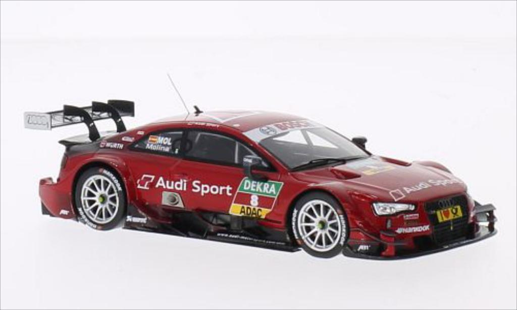 Audi RS5 DTM 1/43 Spark No.8 2014 miniature