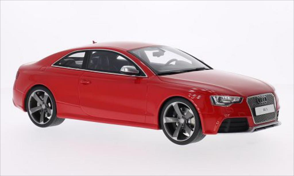 audi rs5 coupe rot 2011 mcw modellauto 1 18 kaufen verkauf modellauto online. Black Bedroom Furniture Sets. Home Design Ideas