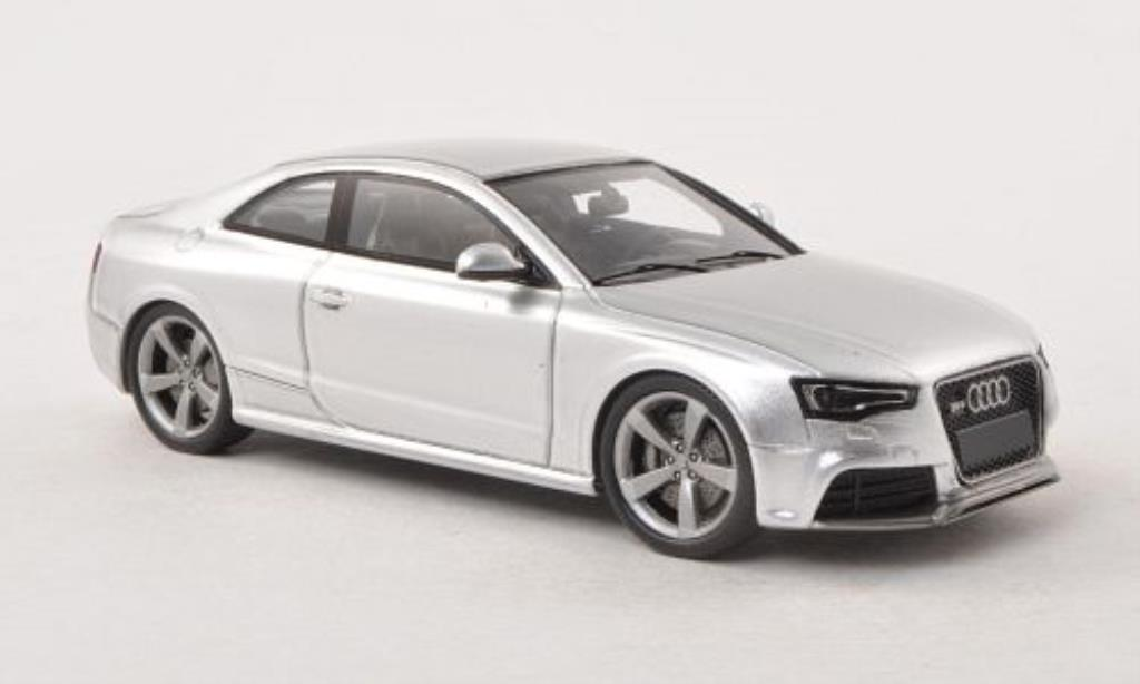 Audi RS5 1/43 Spark coupe grise 2012 miniature