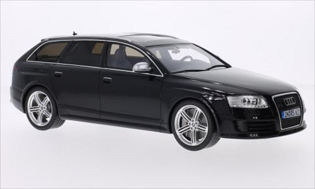 Audi RS6 1/18 Ottomobile Avant (C6) metallic-noire 2008