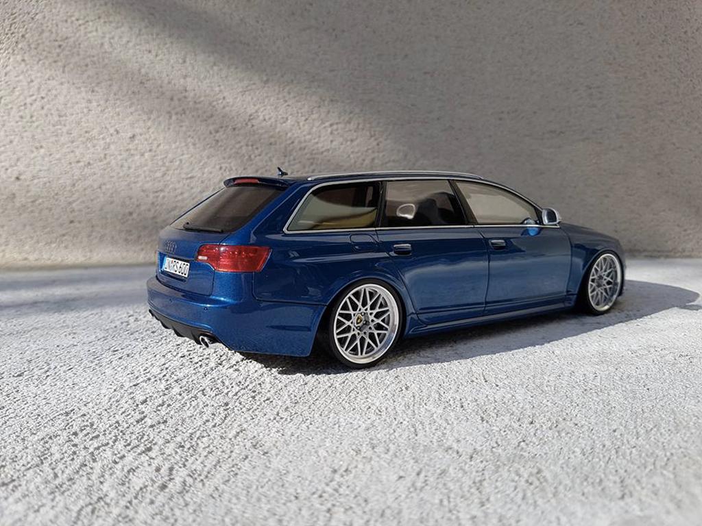 Audi RS6 1/18 Ottomobile C6 Avant V10 TFSI bleu
