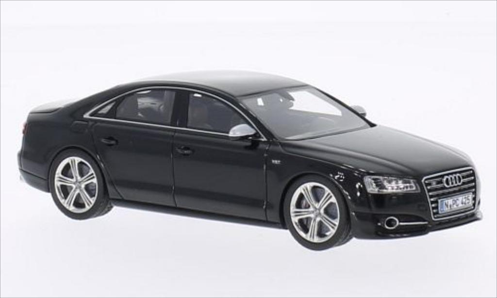 Audi S8 1/43 Neo (PA) metallise noire 2014 miniature