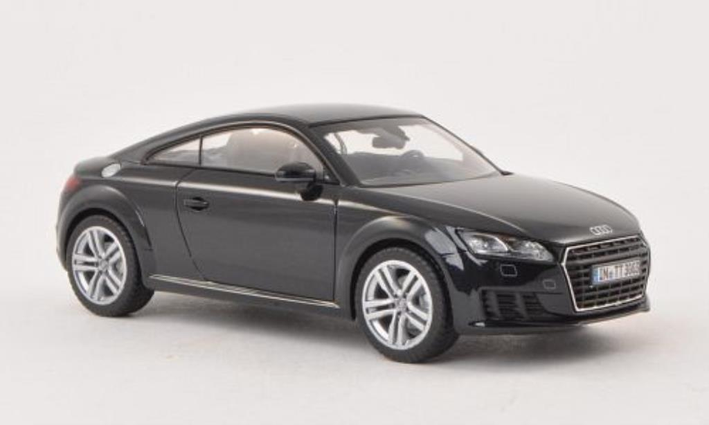 audi tt 8s coupe schwarz 2014 kyosho modellauto 1 43. Black Bedroom Furniture Sets. Home Design Ideas