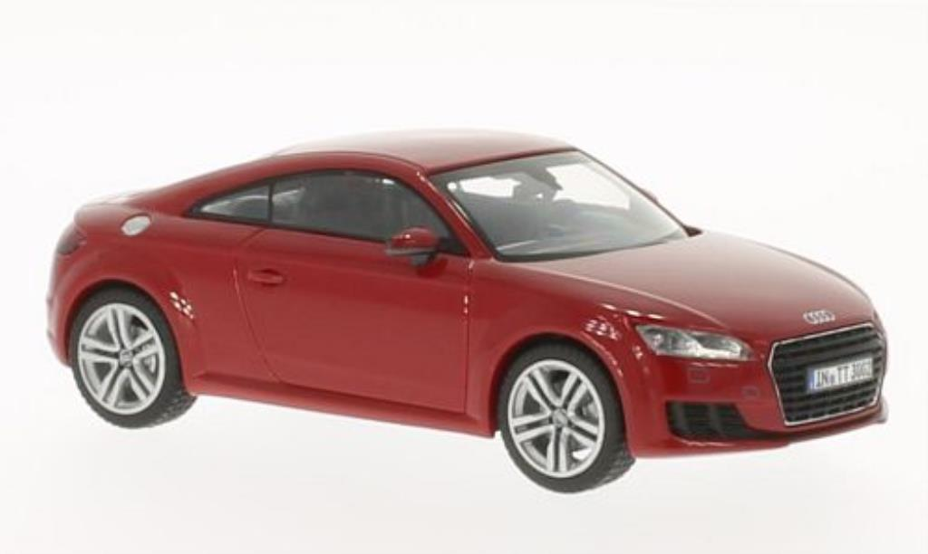 Audi TT 1/43 Kyosho (8S) Coupe red 2014 diecast model cars