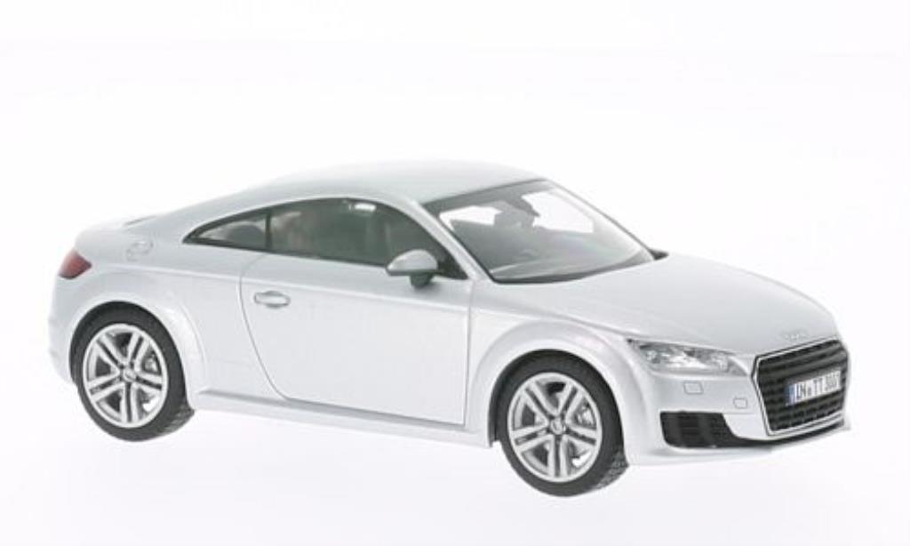 Audi TT 1/43 Kyosho (8S) Coupe grise 2014 miniature