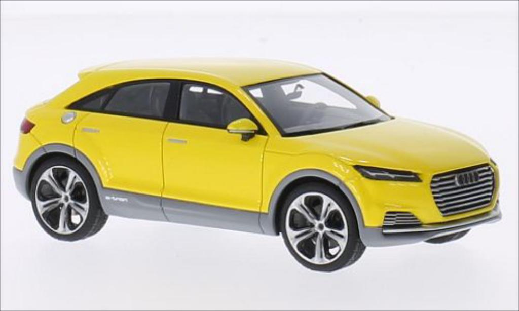 audi tt offroad concept metallic gelb mcw modellauto 1 43. Black Bedroom Furniture Sets. Home Design Ideas