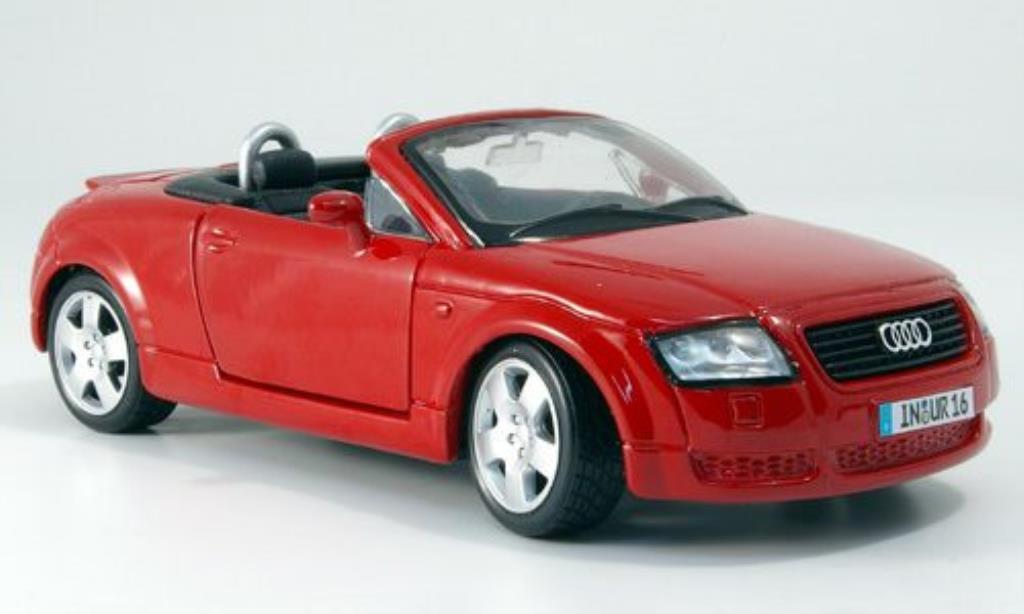 audi tt roadster miniature rouge maisto 1 24 voiture. Black Bedroom Furniture Sets. Home Design Ideas