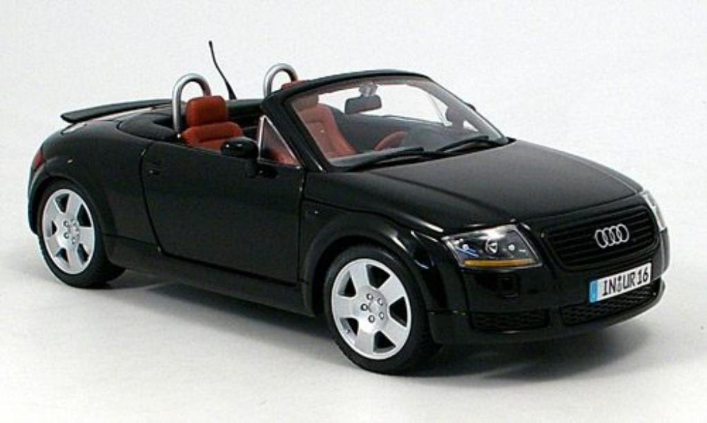 audi tt roadster schwarz 1999 maisto modellauto 1 18. Black Bedroom Furniture Sets. Home Design Ideas