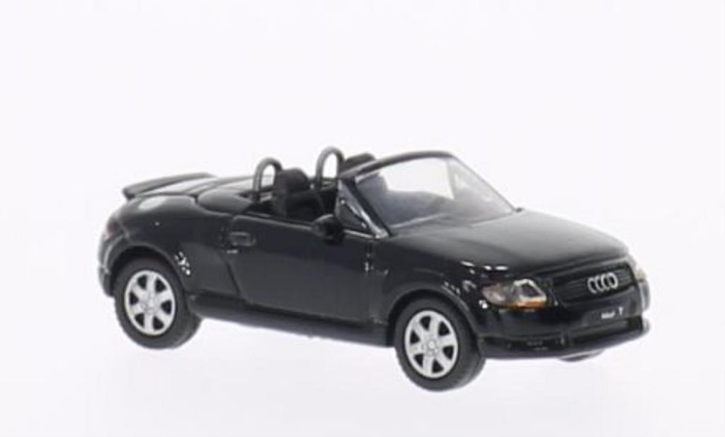 Audi TT Roadster 1/87 Welly Roadster noire miniature