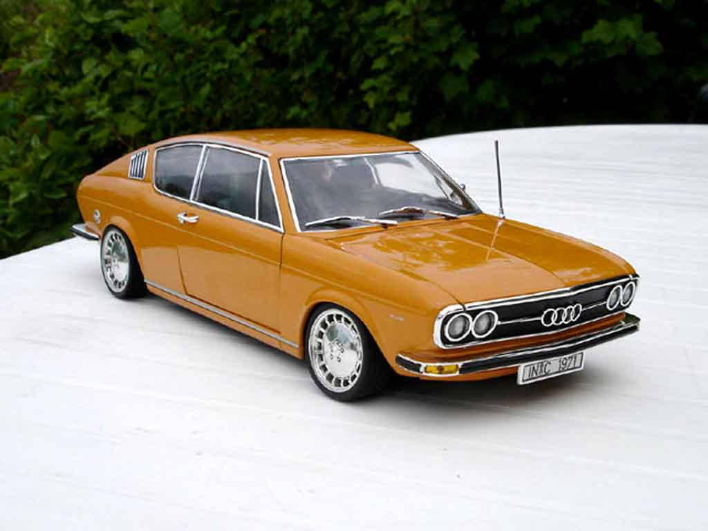 Audi 100 coupe S 1/18 Anson old school tuning miniature