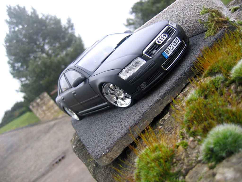 Audi A8 4.2 TDI 1/18 Motormax dub tuning miniature