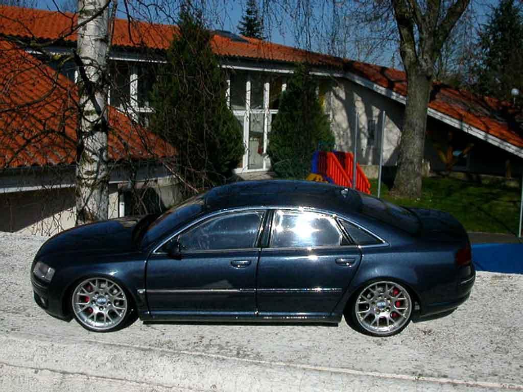 Audi A8 1/18 Kyosho jantes bbs alu