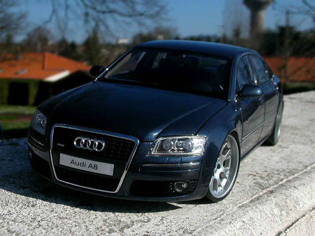 Audi A8 1/18 Kyosho jantes bbs alu tuning modellino in miniatura