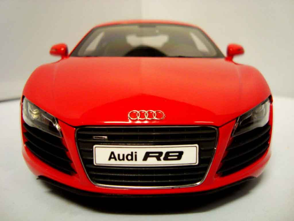 audi r8 4 2 fsi rojo kyosho coches miniaturas 1 18 comprar venta coches miniaturas en coches. Black Bedroom Furniture Sets. Home Design Ideas