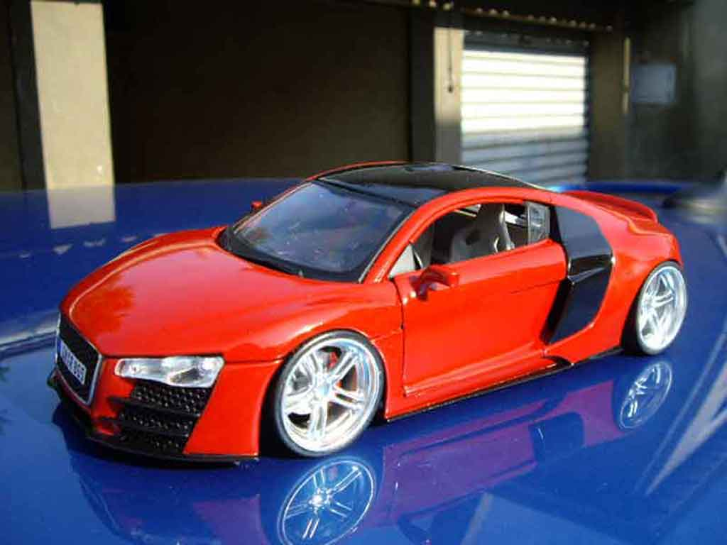 Audi R8 Miniature Tdi Maisto 1 18 Voiture Miniature Com