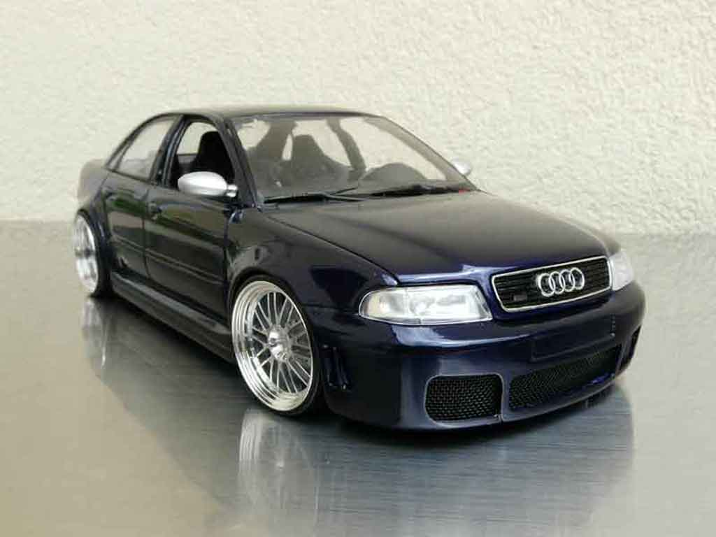 Audi RS4 1/18 Ut Models b5 jantes bbs 20 pouces tuning diecast model cars