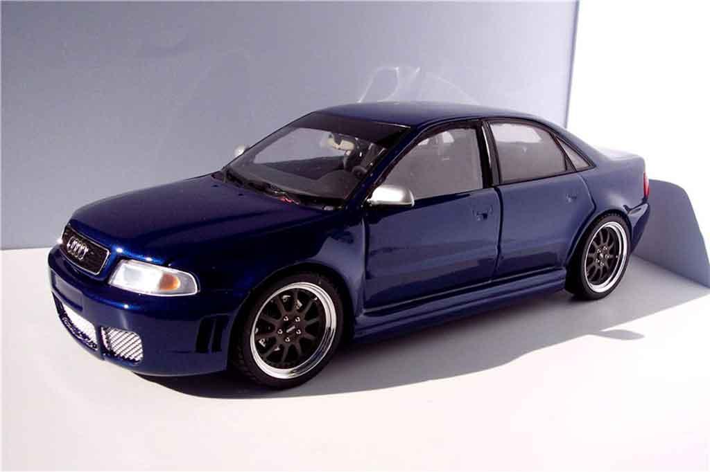 audi s4 kit rs4 blau felgen kinesis ut models modellauto 1 18 kaufen verkauf modellauto. Black Bedroom Furniture Sets. Home Design Ideas