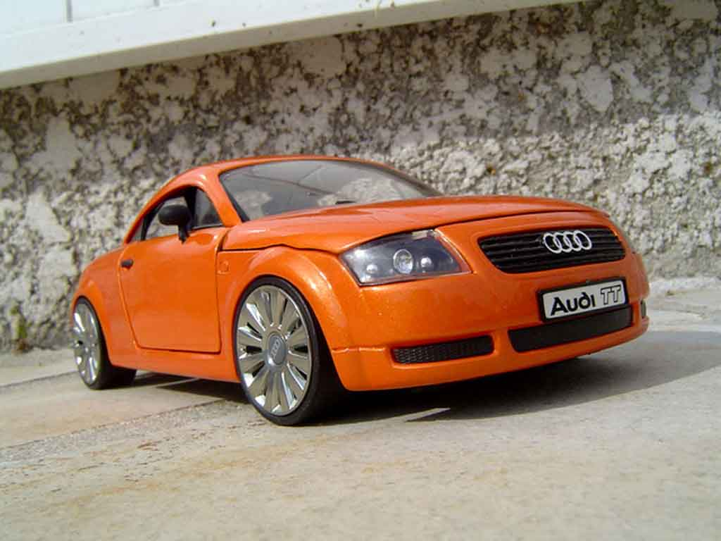 Audi TT coupe 1/18 Revell jantes audi a8 orange lamborghini tuning diecast model cars