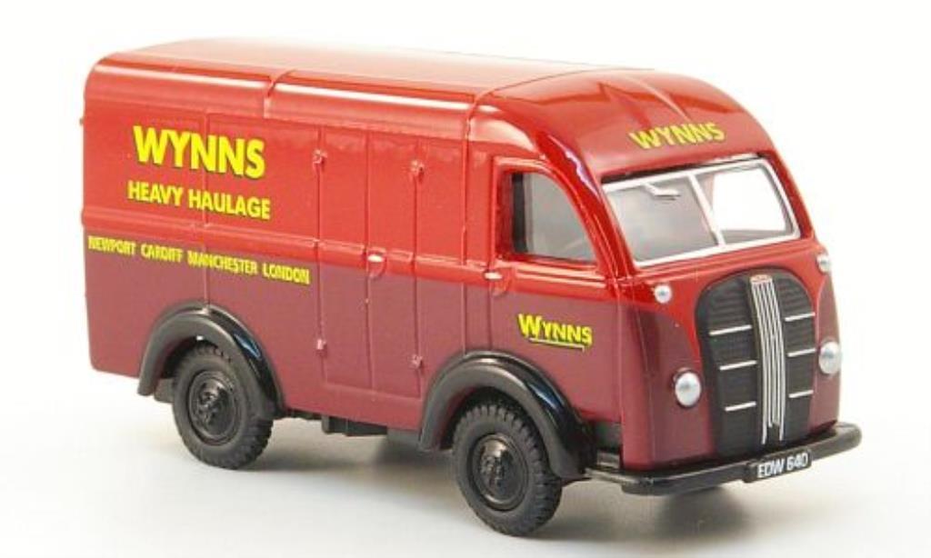 Austin K8 1/76 Oxford Threeway Van Wynns Heavy Haulage miniature