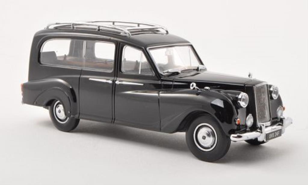 Austin Princess 1/43 Oxford DM4 Hearse noire miniature