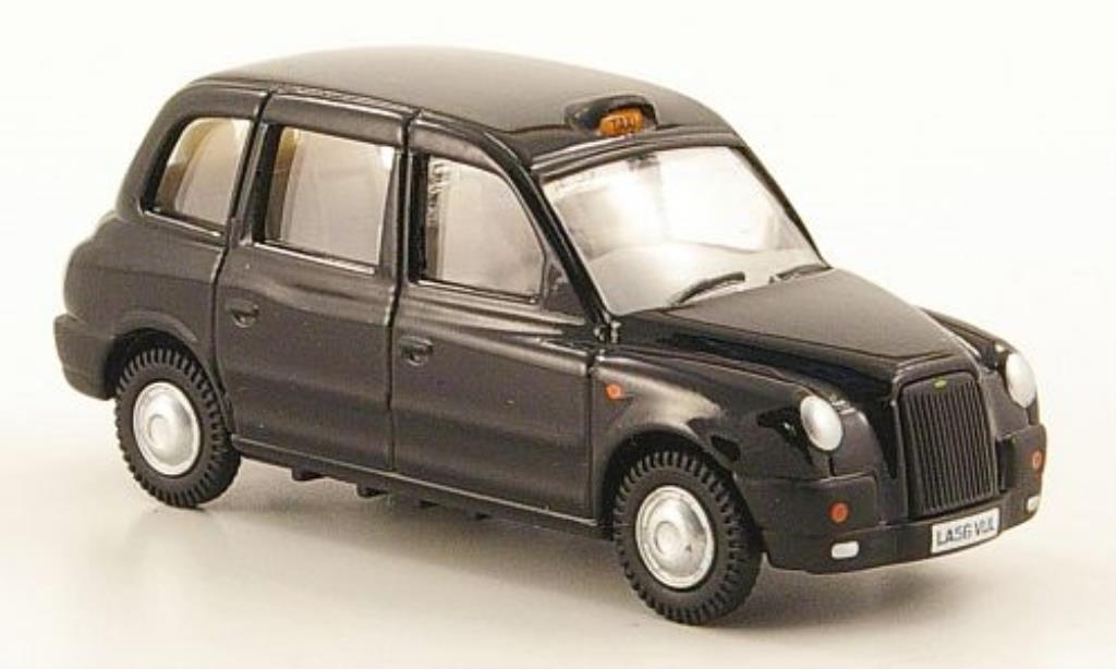 Austin TX4 1/76 Oxford Taxi noire miniature