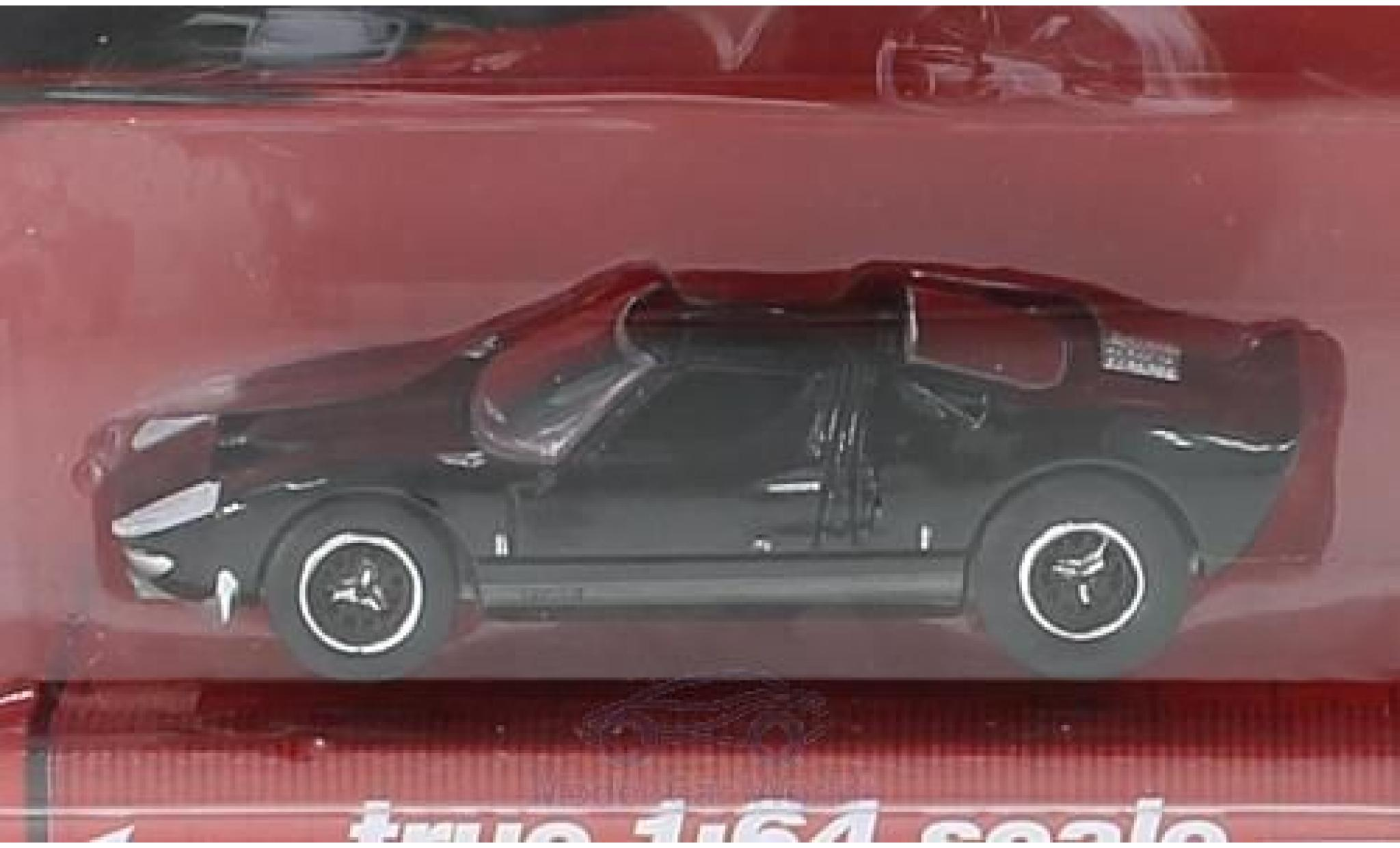 Ford GT40 1/64 Auto World noire 1965