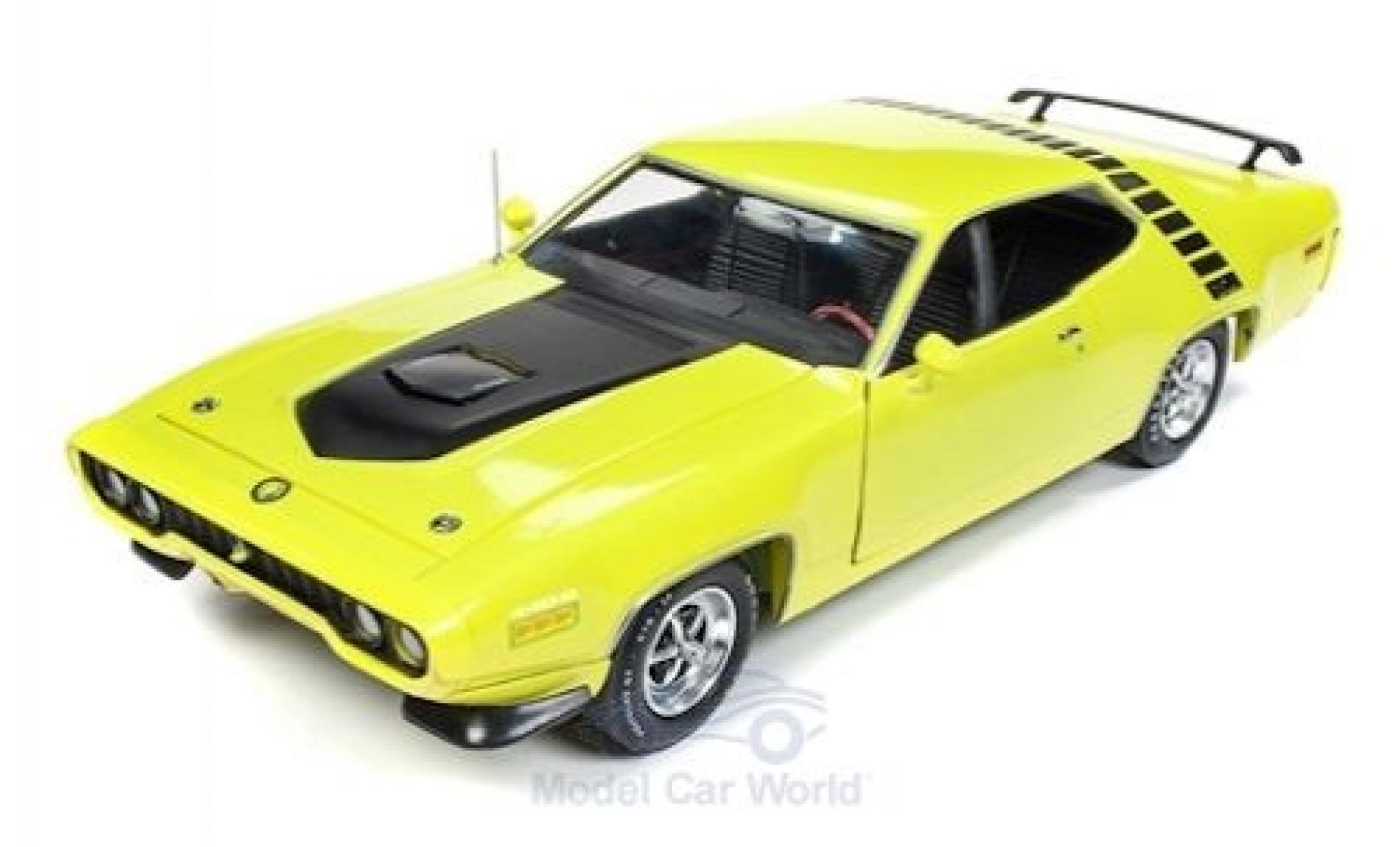 Plymouth Road Runner 1/18 Auto World green/black 1971