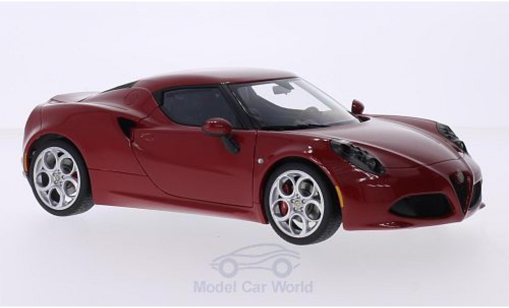 Alfa Romeo 4C 1/18 AUTOart red
