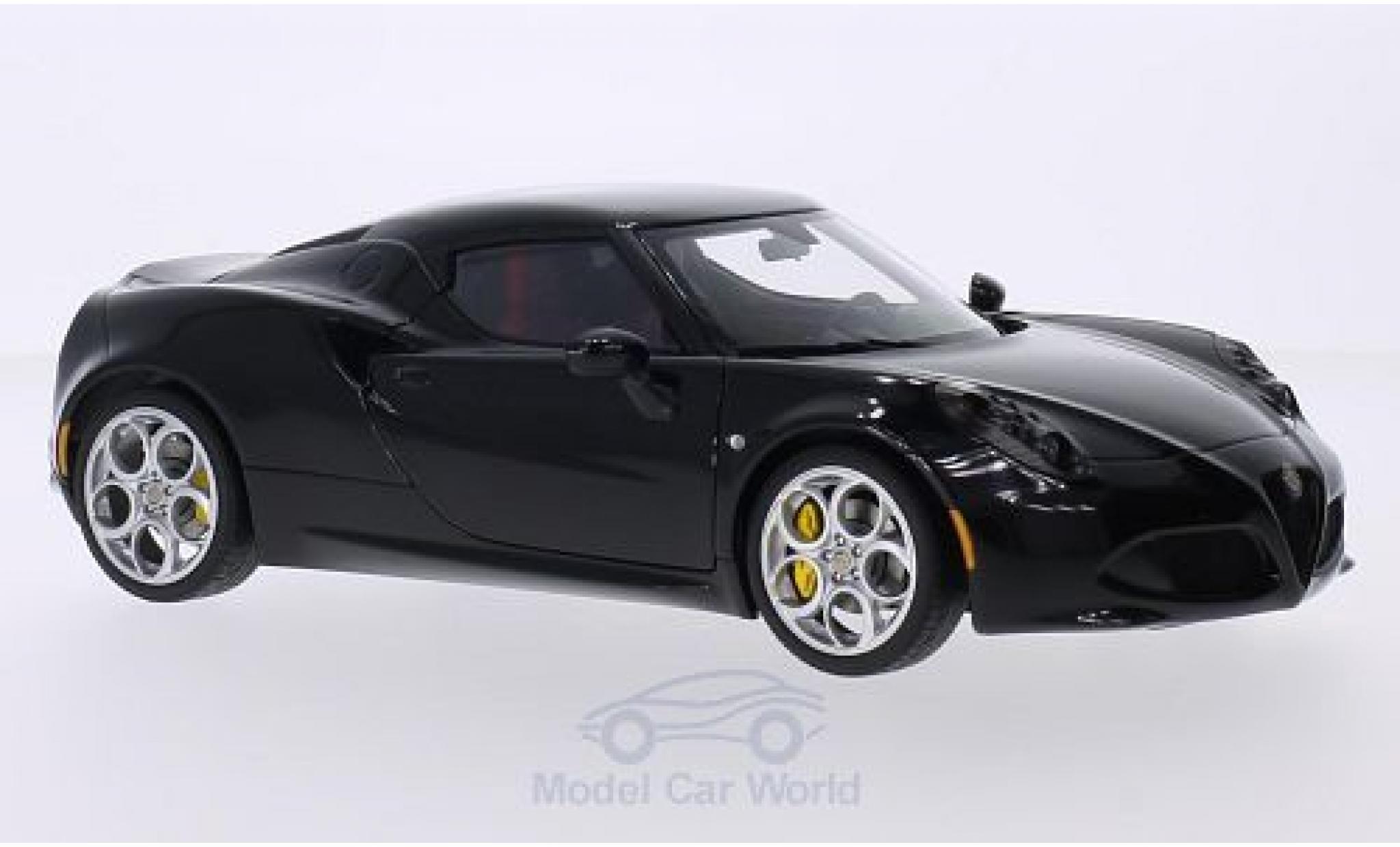 Alfa Romeo 4C 1/18 AUTOart black 2013