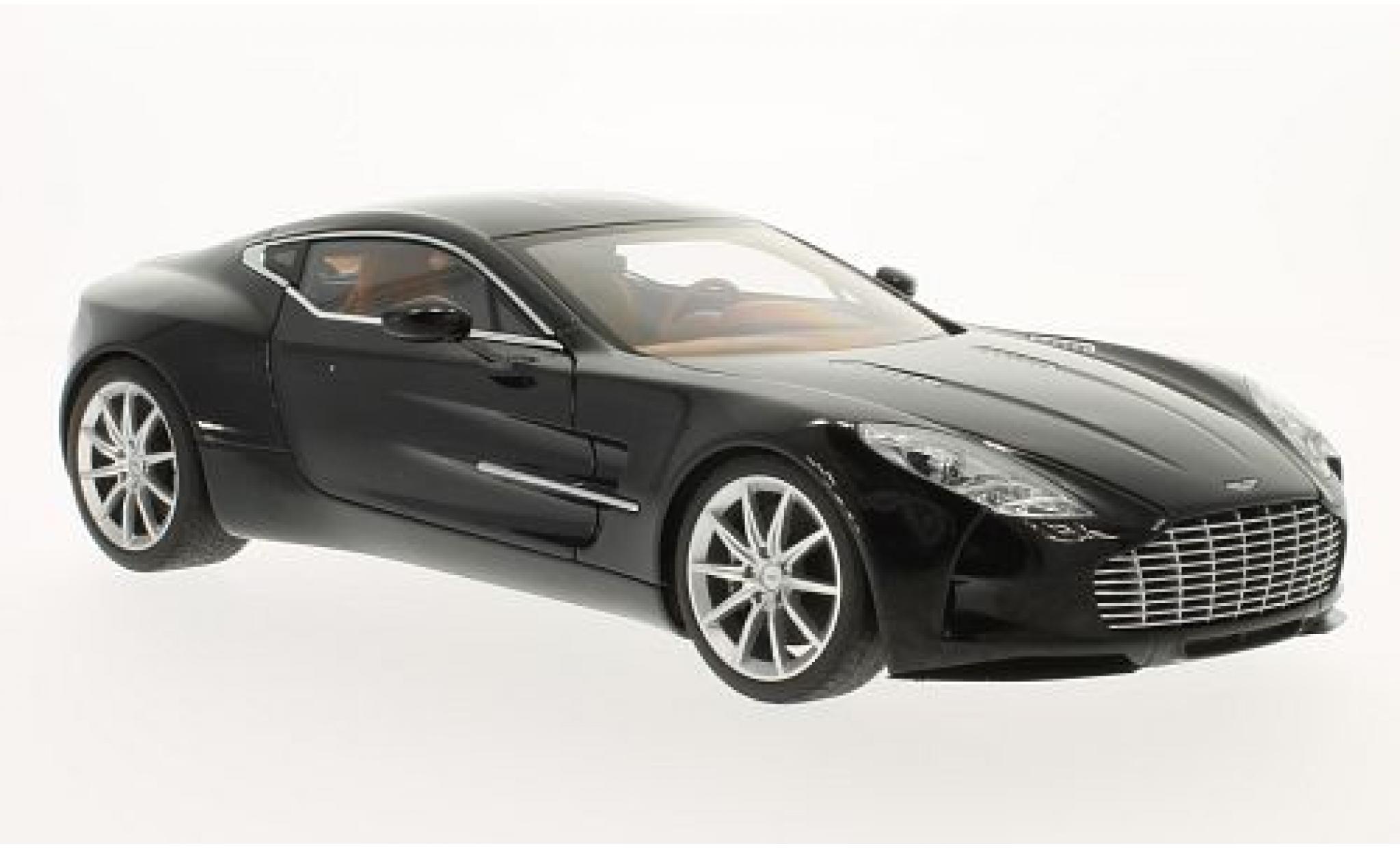 Aston Martin One 1/18 AUTOart ONE-77 metallise noire 2009