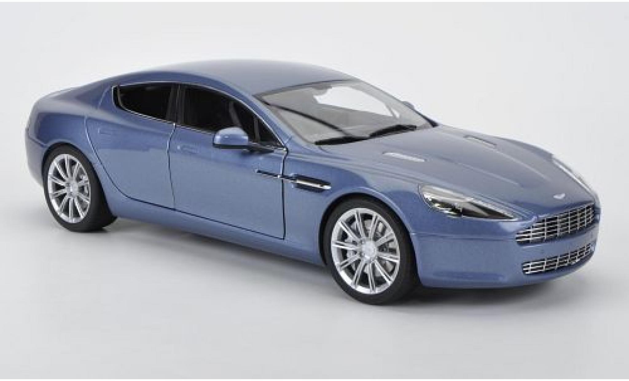 Aston Martin Rapide 1/18 AUTOart metallise bleue 2010