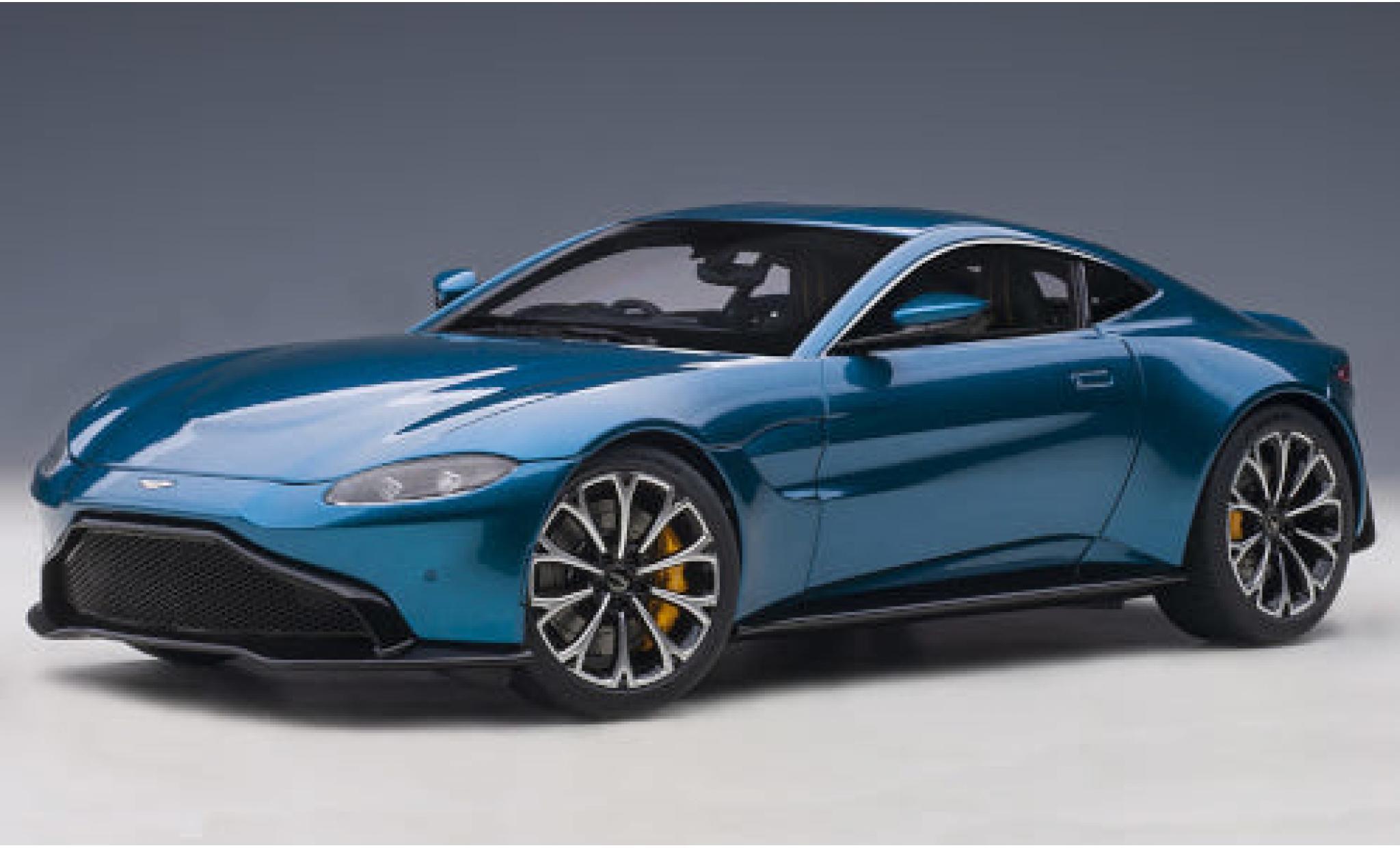 Aston Martin Vantage 1/18 AUTOart metallise bleue RHD 2019