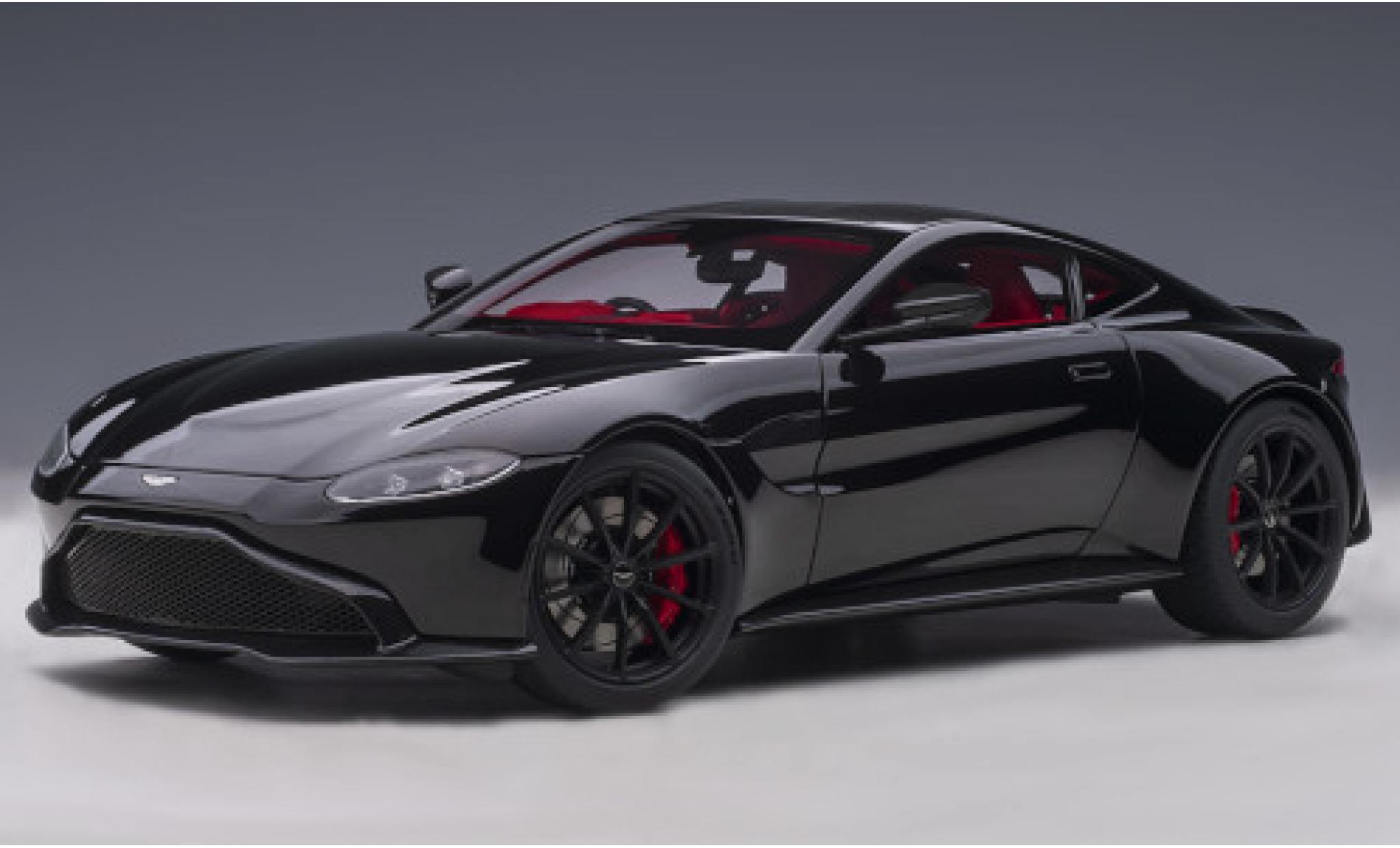 Aston Martin Vantage 1/18 AUTOart noire RHD 2019