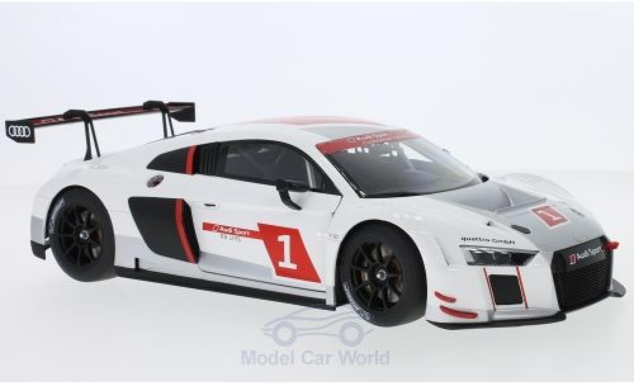 Audi R8 1/18 AUTOart LMS No.1 2016 Presentation Salon Genf