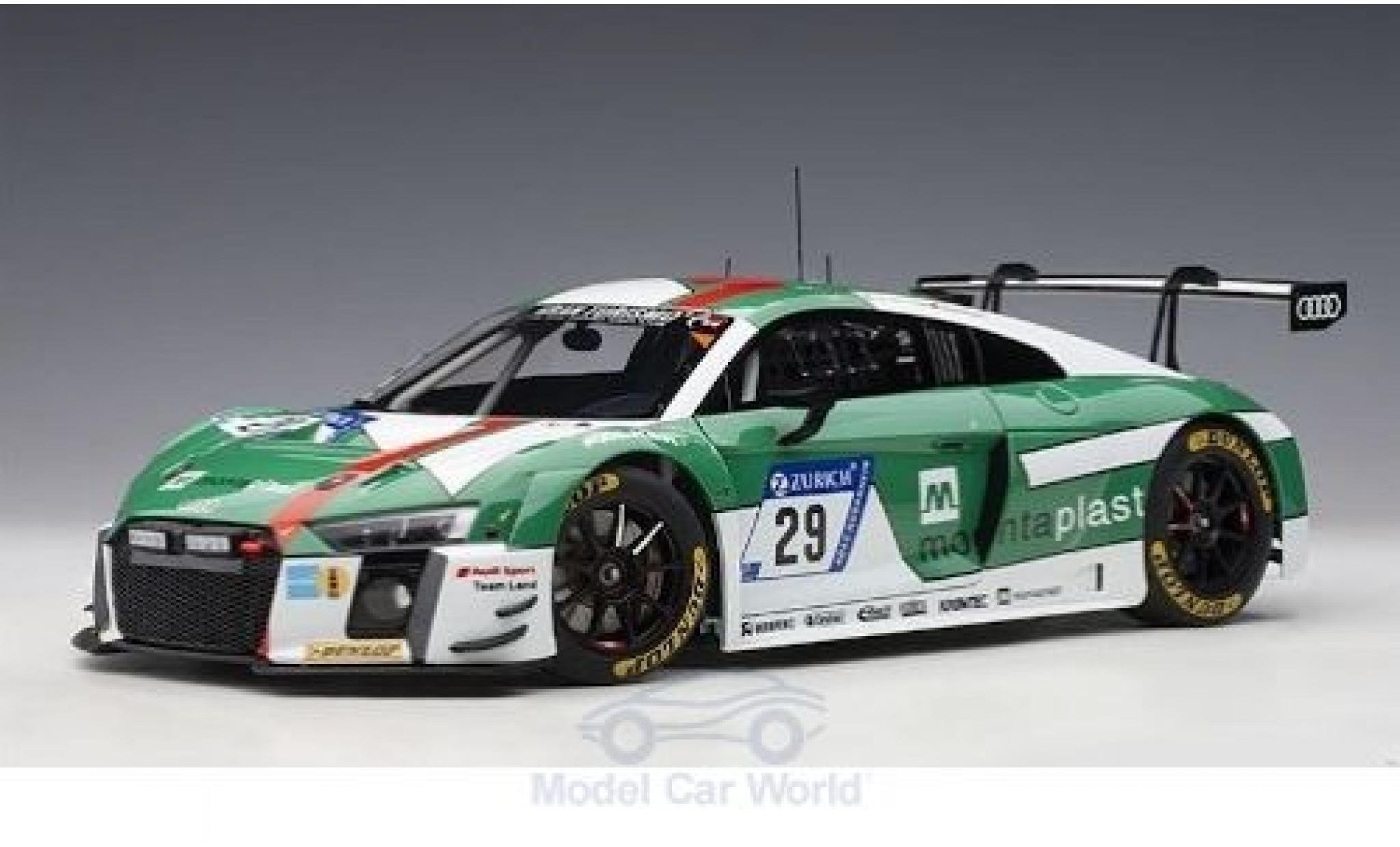 Audi R8 1/18 AUTOart LMS No.29 24h Nürburgring 2017 K.van der Linde/C.Mies/C.de Phillippi/M.Winkelhock