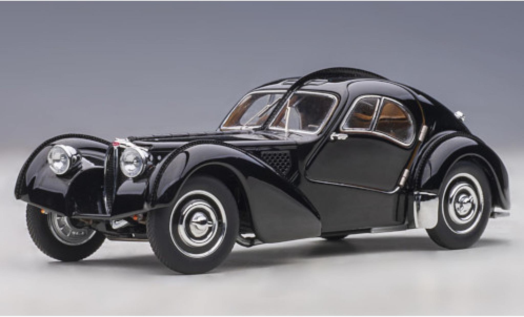 Bugatti 57 1/43 AUTOart SC Atlantic noire RHD 1938