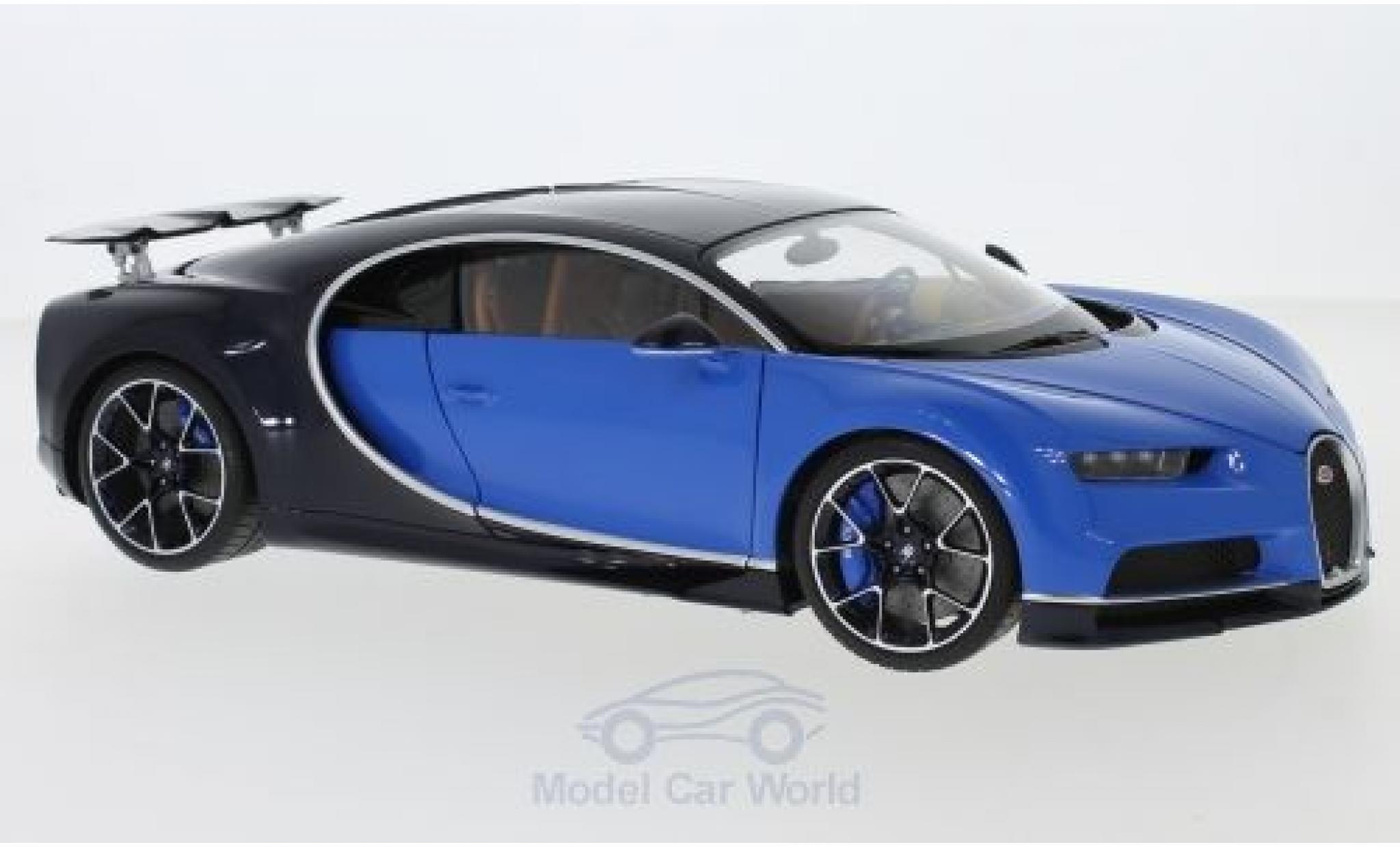 Bugatti Chiron 1/18 AUTOart blue/blue 2017