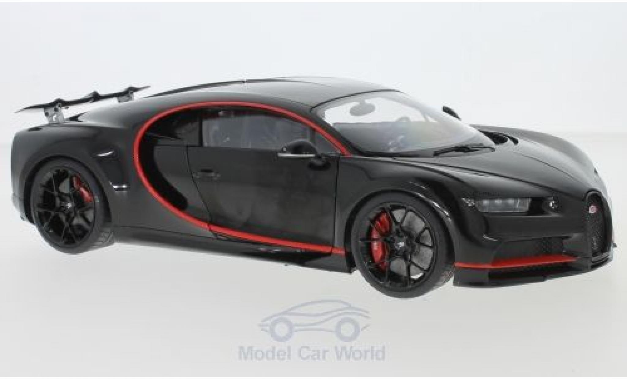 Bugatti Chiron 1/18 AUTOart black 2017