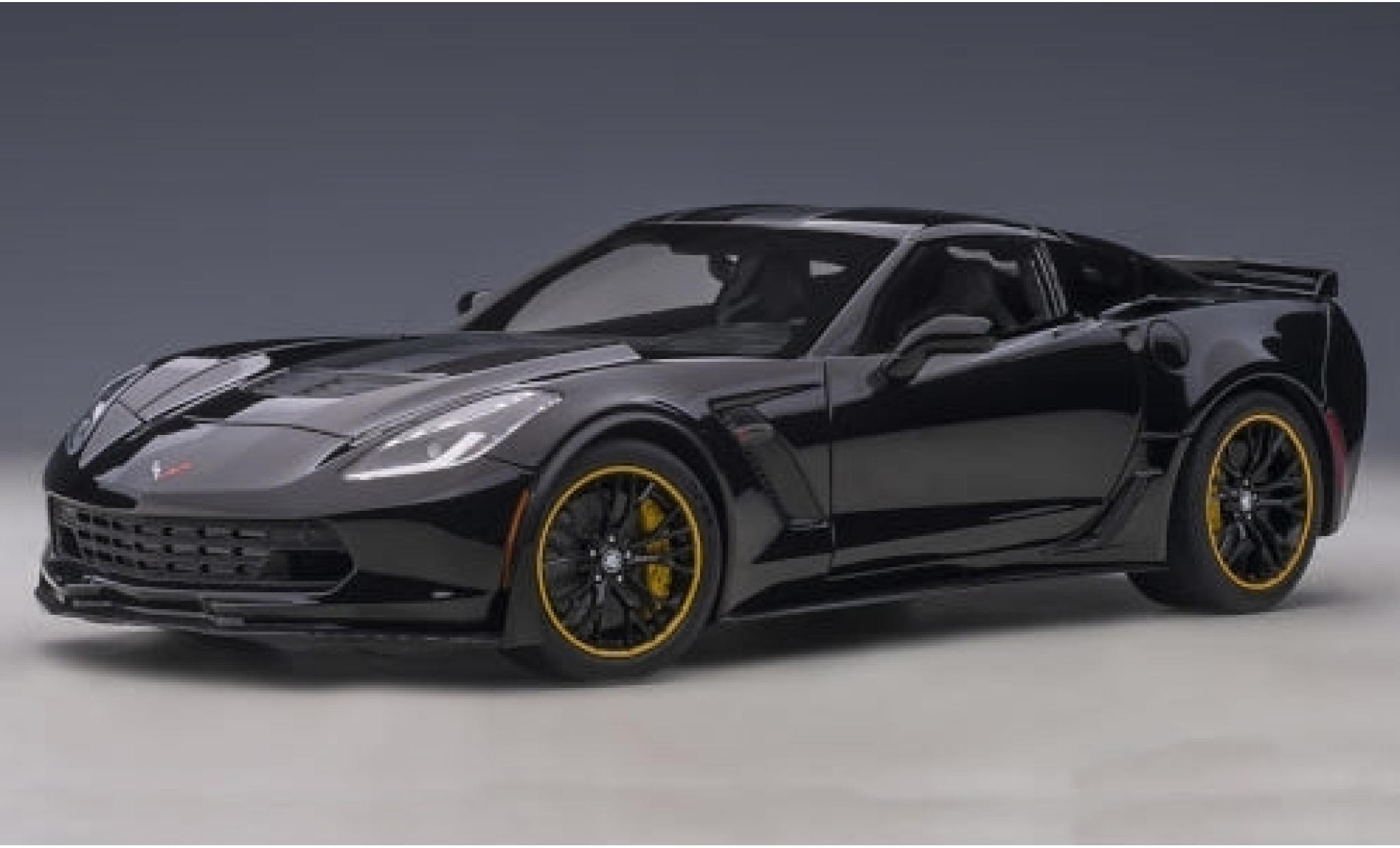 Chevrolet Corvette 1/18 AUTOart (C7) Z06 C7R Edition black/matt-black 2015