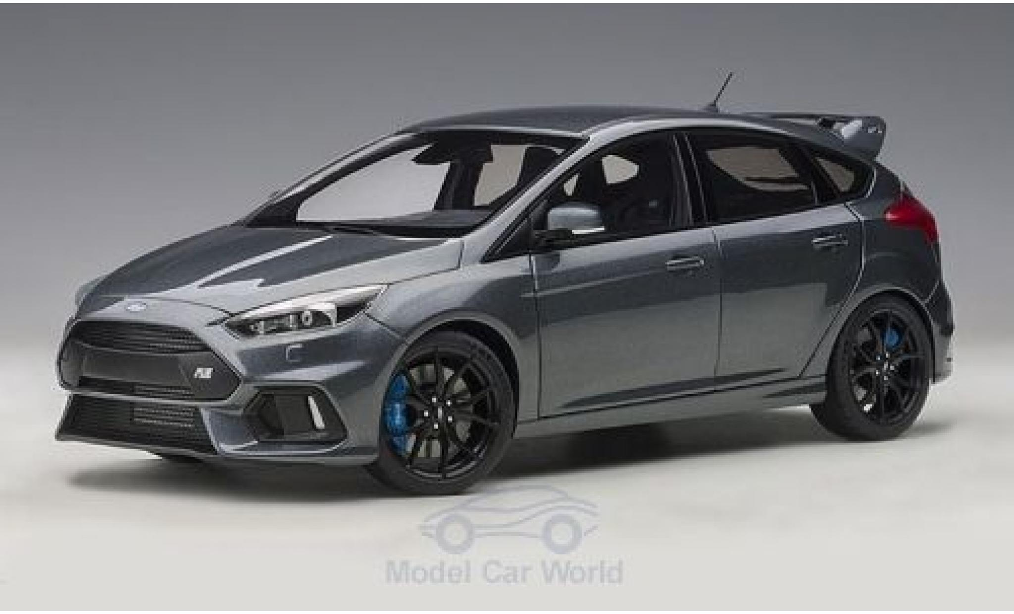 Ford Focus 1/18 AUTOart MKIII RS metallic grey 2016