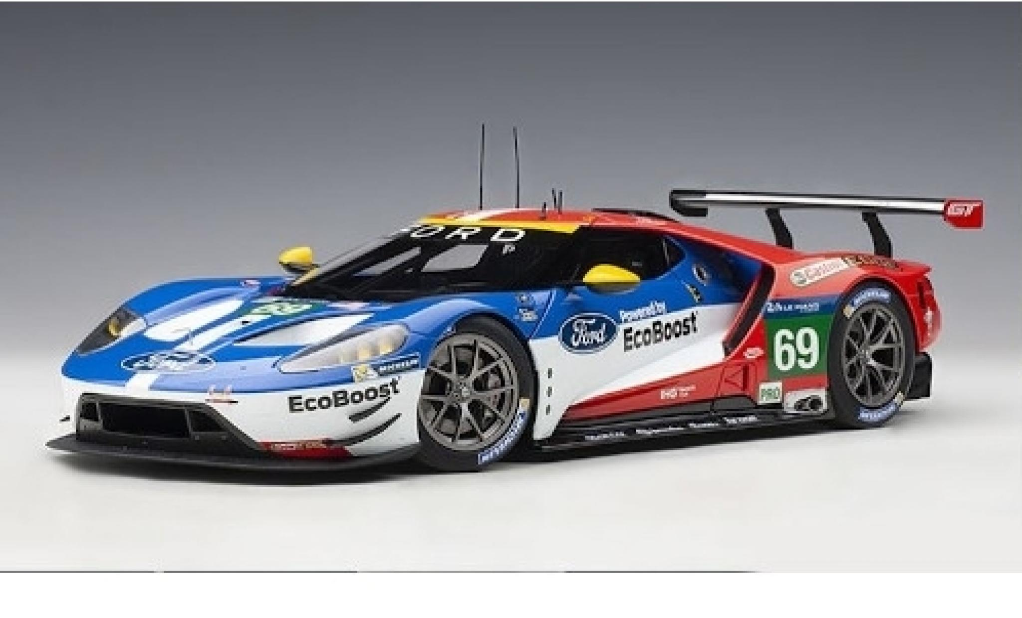 Ford GT 1/18 AUTOart No.69 Chip Ganassi Team USA EcoBoost 24h Le Mans 2016 R.Briscoe/S.Dixon/R.Westbrook