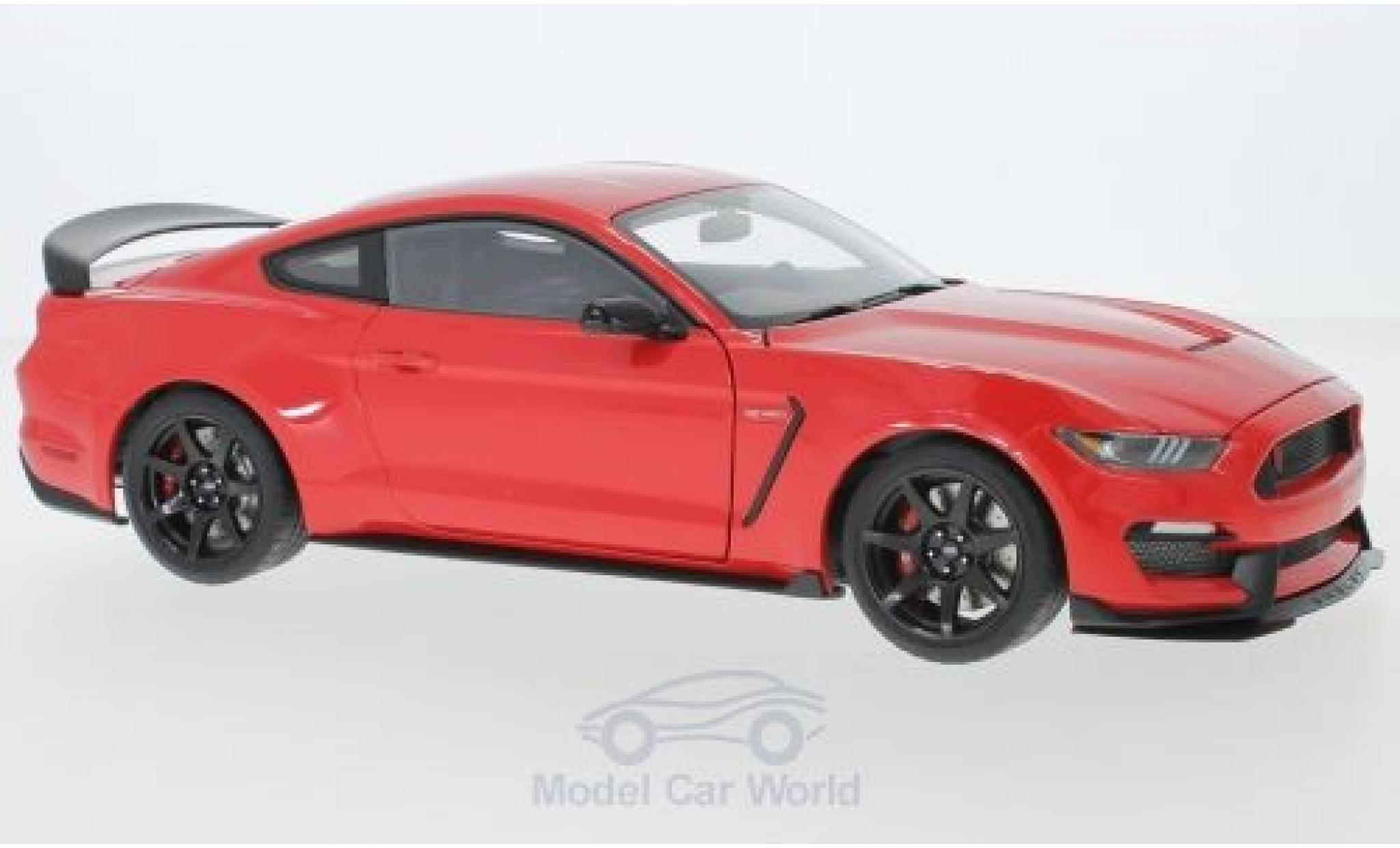 Ford Mustang 1/18 AUTOart Shelby GT-350R red 2017