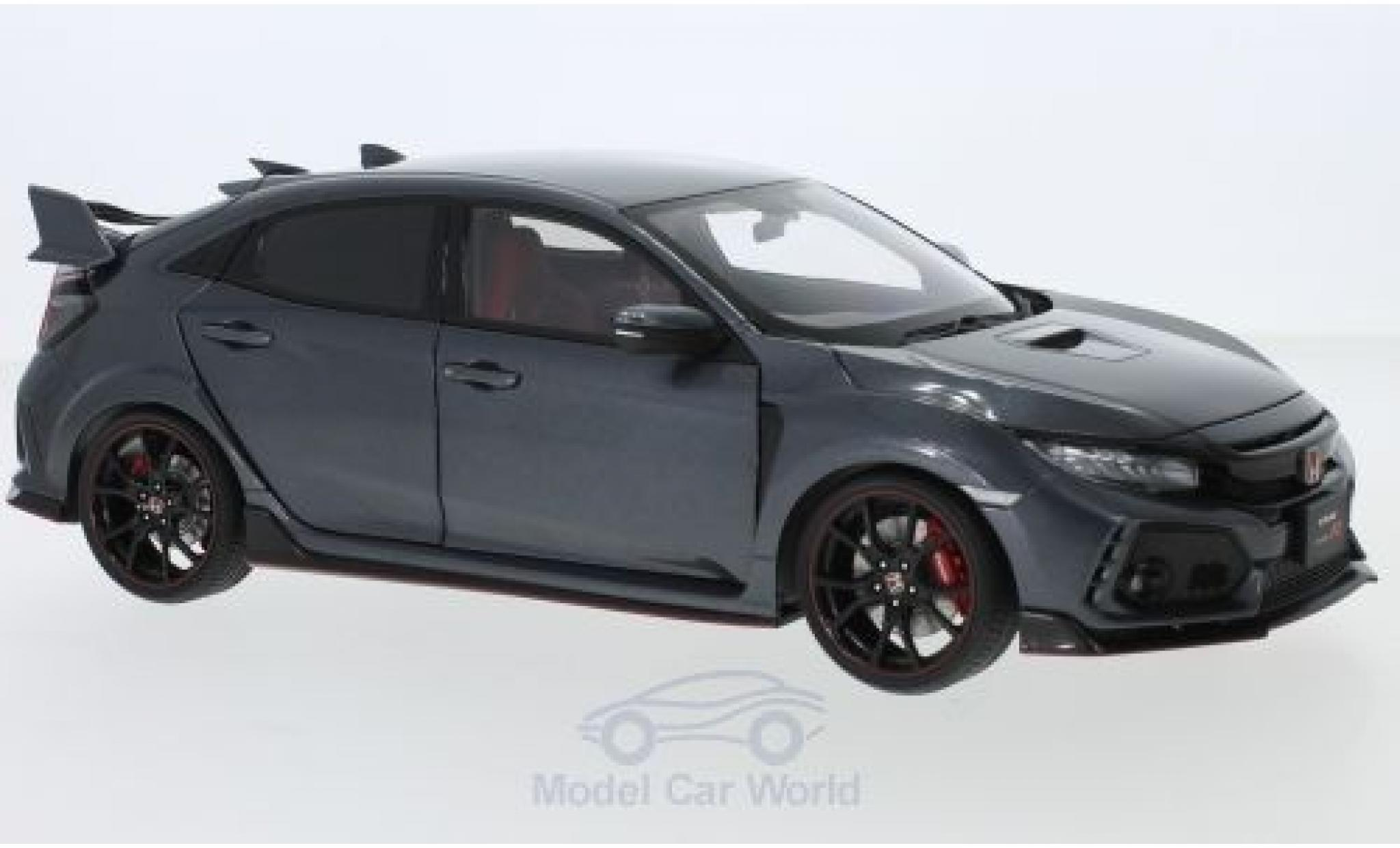 Honda Civic 1/18 AUTOart Type R (FK8) anthrazit RHD 2017