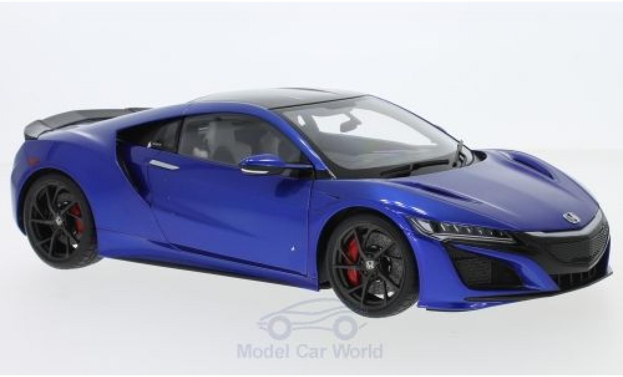 Honda NSX 1/18 AUTOart (NC1) metallic-blue RHD 2016
