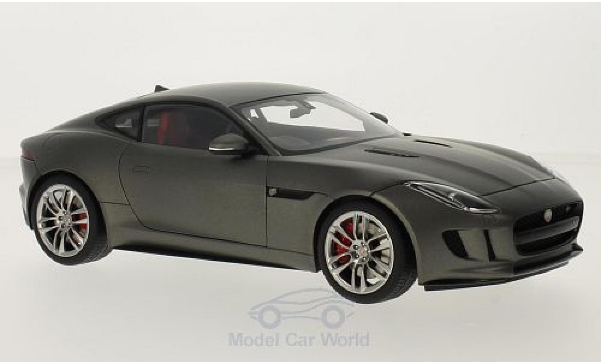 Jaguar F-Type 1/18 AUTOart R Coupe matt-grise 2015