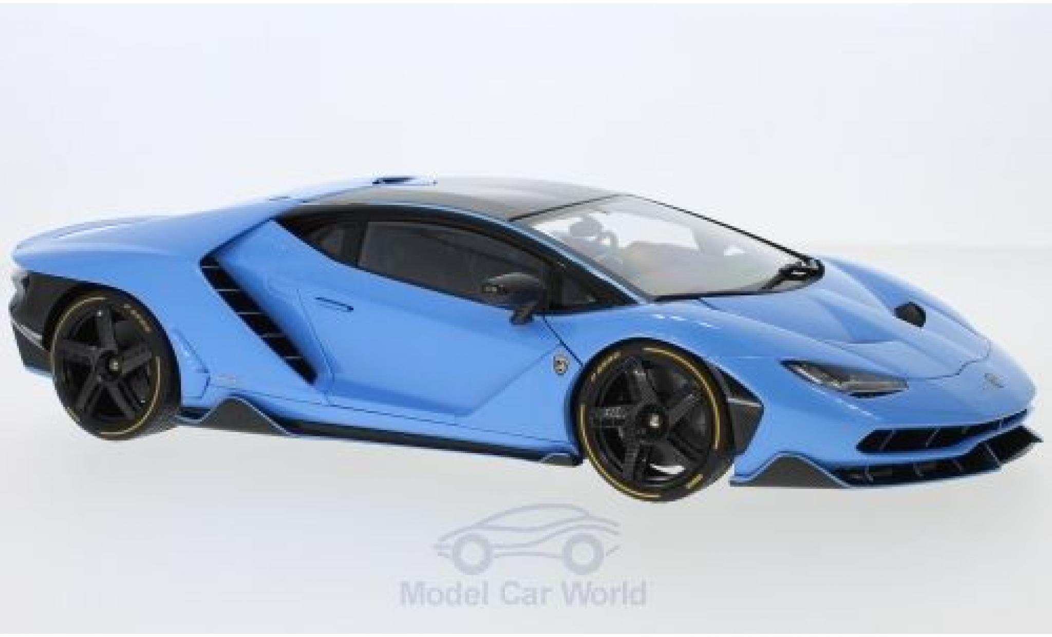 Lamborghini Centenario 1/18 AUTOart metallic blue